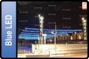 ICICLE LED AZUL 5.0X0.5M  (USO EXTERIOR)