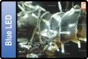 GUIRNALDA EXTERIOR LED AZUL 10M (150 LED)