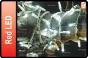 GUIRNALDA EXTERIOR LED ROJO 10M (150 LED)