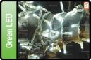 GUIRNALDA EXTERIOR LED VERDE 10M (180 LED)